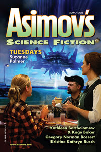 Asimov's Science Fiction cover